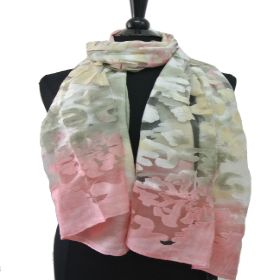 BF712 Gradient Colored Scarf
