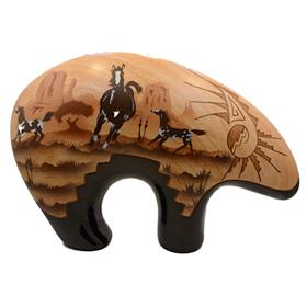 James Benally Navajo Pottery