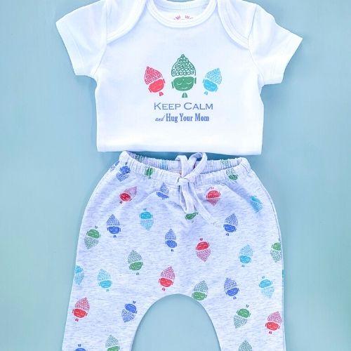 Baby Buddha Onesie & Harem Pants