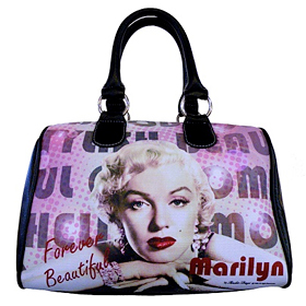 Licensed Marilyn Satchel Bag