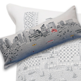 Boston Queen day Pillow