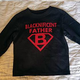 I Am Blacknificent Father Shirt