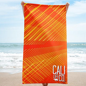 Mission Beach Microfiber Towel