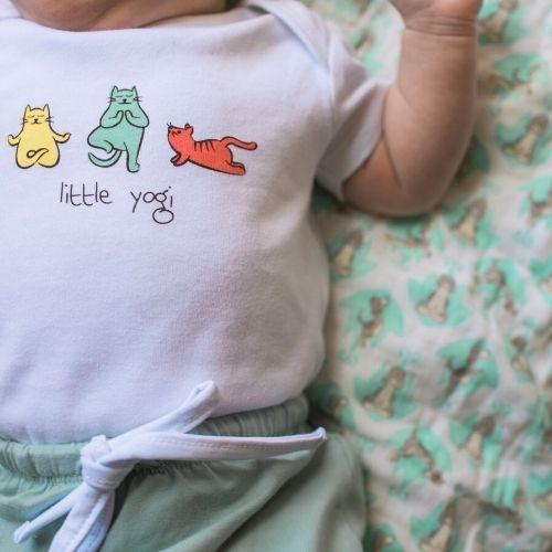 Kitten Yoga Onesie & Harem Pants