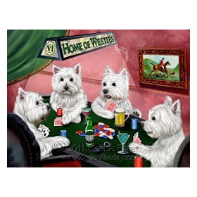 Poker Dogs Blanket