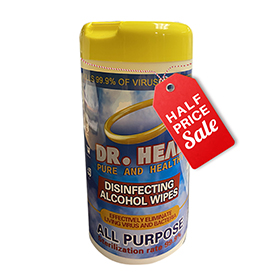 DR. HEAL Disinfecting Wipes