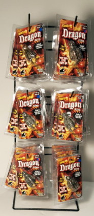 Fantasy Dragon Skull Ring Display