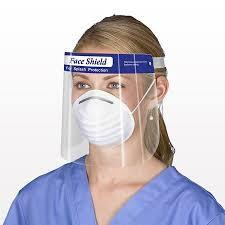 500 Pack Protective Face Shields