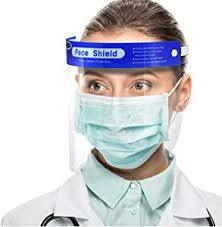 1000 Pack Protective Face Shields