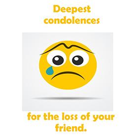 5X7 Sympathy card