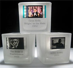 ACTUAL FILM VOTIVE CANDLE