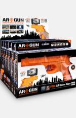 DISPLAY OF AR GUNS