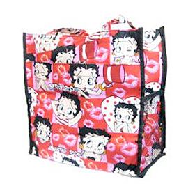 Betty Boop Print Tote Bags