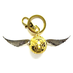 Gold Snitch Pewter Key Ring