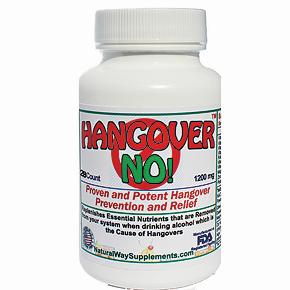 HANGOVER NO! Prevents Hangovers