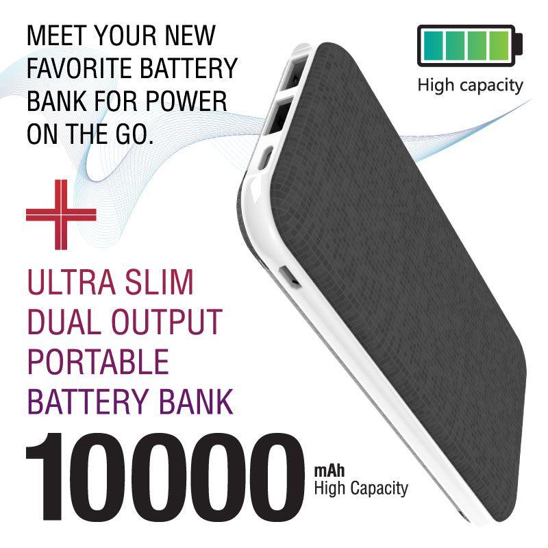 Ultra SIim 10K mAh Battery Bank