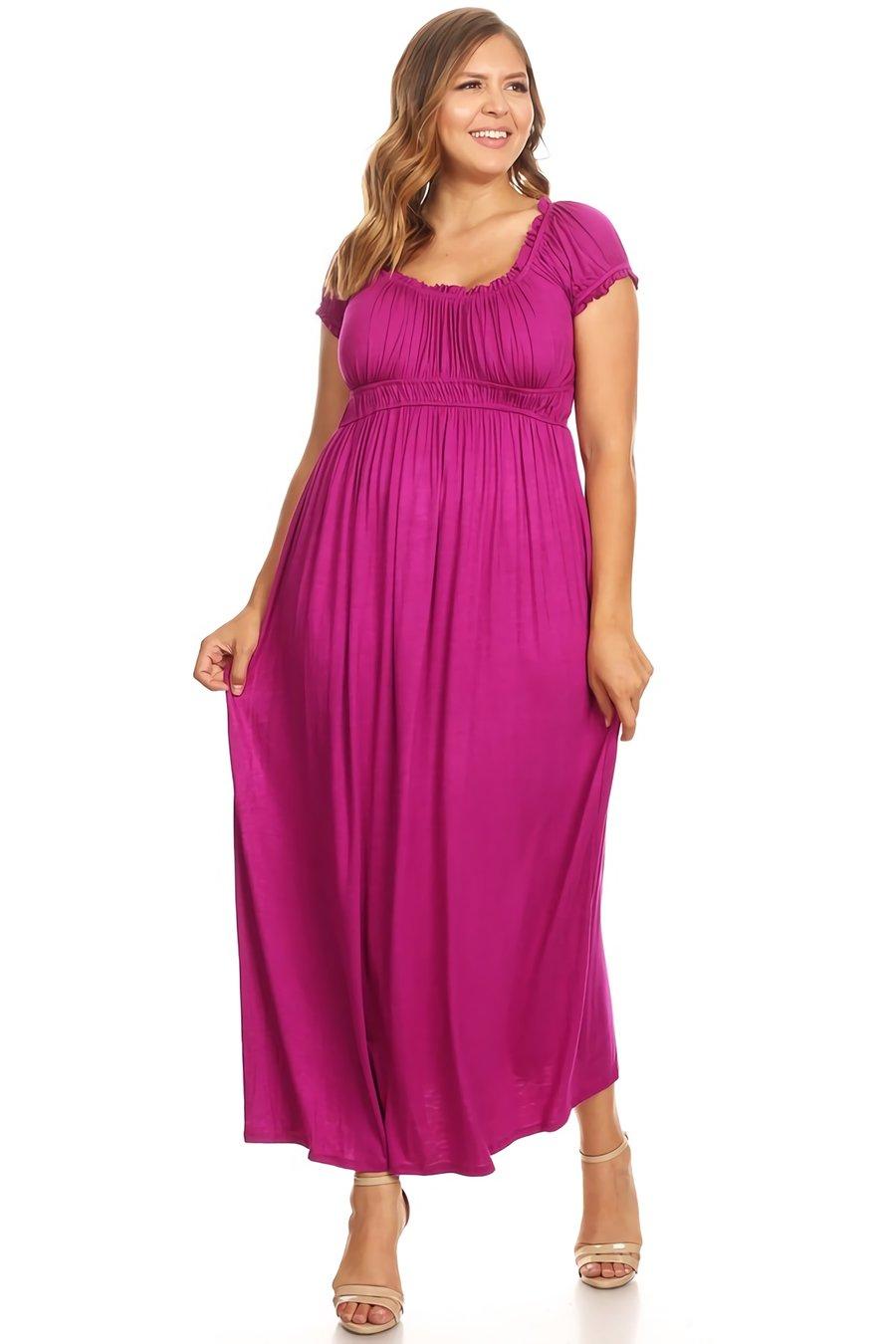 Long Dress Plus Size