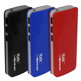 Power Bank with 3 USB Ports