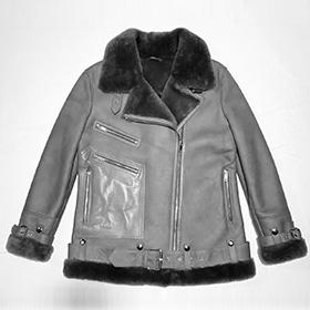 The Baroness Shearling Coat