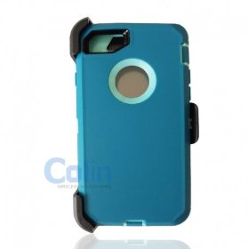 iPhone 7/8 Plus Hybrid Case with Clip