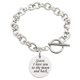 Stainless Steel Toggle Bracelet