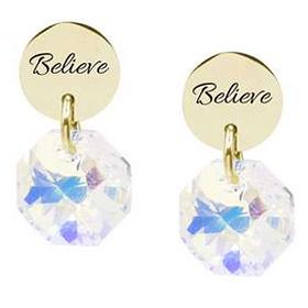 Swarovski Stud Earrings - Believe