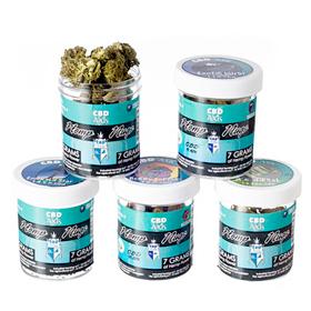CBDAxis Hemp Flower 7 gram jar