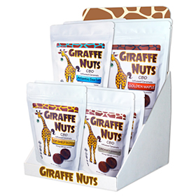 Giraffe Nuts CBD Infused Caramels