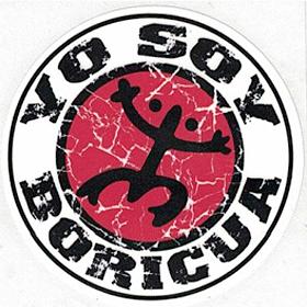 YO SOY BORICUA CAR STICKER