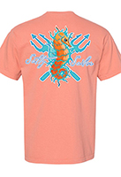 Seahorse on Terracotta T-Shirt
