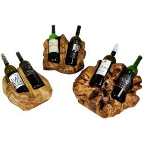 Unique Wooden Wine Holders