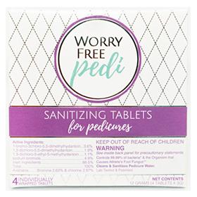Worry Free Pedi 4 Pack