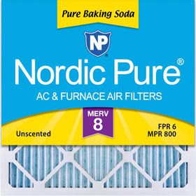 Pure Baking Soda Pleated Filter