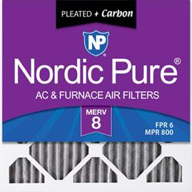 MERV 8 Pleated + Carbon Air Filter