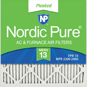 MERV 13 Pleated Air Filters