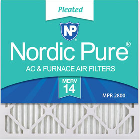 MERV 14 Pleated Air Filters