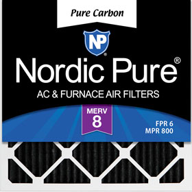 Pure Carbon Pleated Air Filter