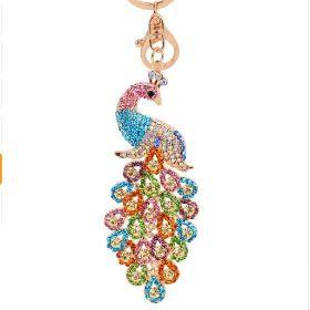 JEWELRY at Wholesale Price. Rhinestone Peacock HandBag Charm
