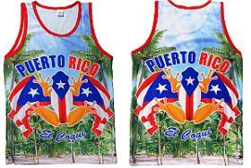 PUERTO RICO ''COQUI & FLAG'' JERSEY
