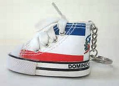 DOMINICAN REP. SNEAKER KEYCHAIN