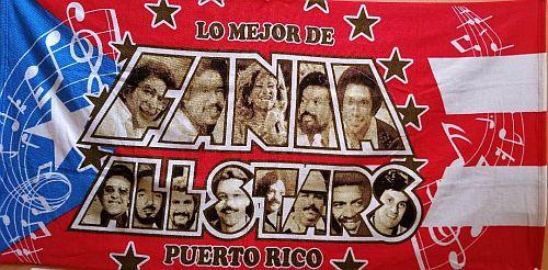 PUERTO RICO ''FANIA ALL STAR'' BEACH TOWEL