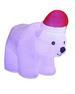 6.5FT Inflatable Plush Polar Bear