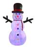 12FT Inflatable Flashing Snowman