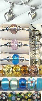 Cuff BRACELET w Center Bead (Optional Color Group)