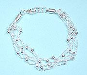 5-Strand Ball Chain BRACELET
