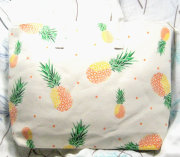 PINEAPPLE ECO zipper Canvas TOTE BAG