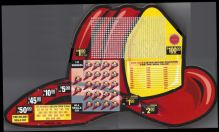 720 HOLE FIRE HELMET - $1.00 PER PLAY - RED WINNERS