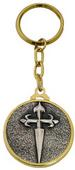 Templar Knight Cross of Santiago KEYCHAIN by Marto of Toledo