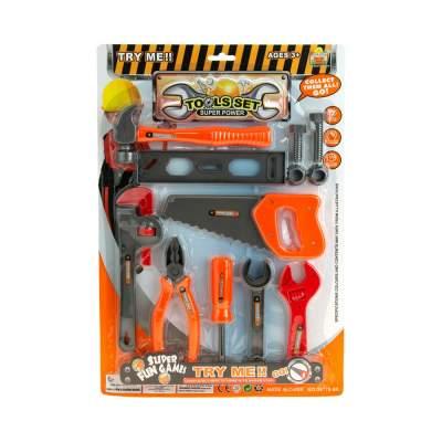 Wholesale 12 Piece Kids Tool Set
