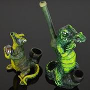 Hand Crafted FIGURINE Resin Smoking Pipe